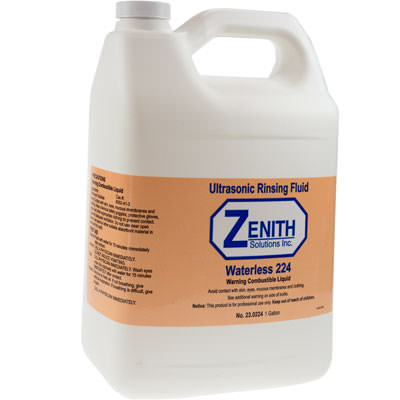 Zenith Waterless #224 Ultrasonic Rinsing Solution-0