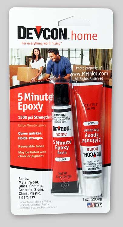 Devcon 5 Minute Epoxy(Tubes)-0