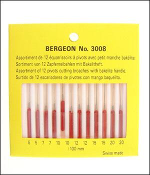 Bergeon 3008 Pivot Cutting Broaches-0