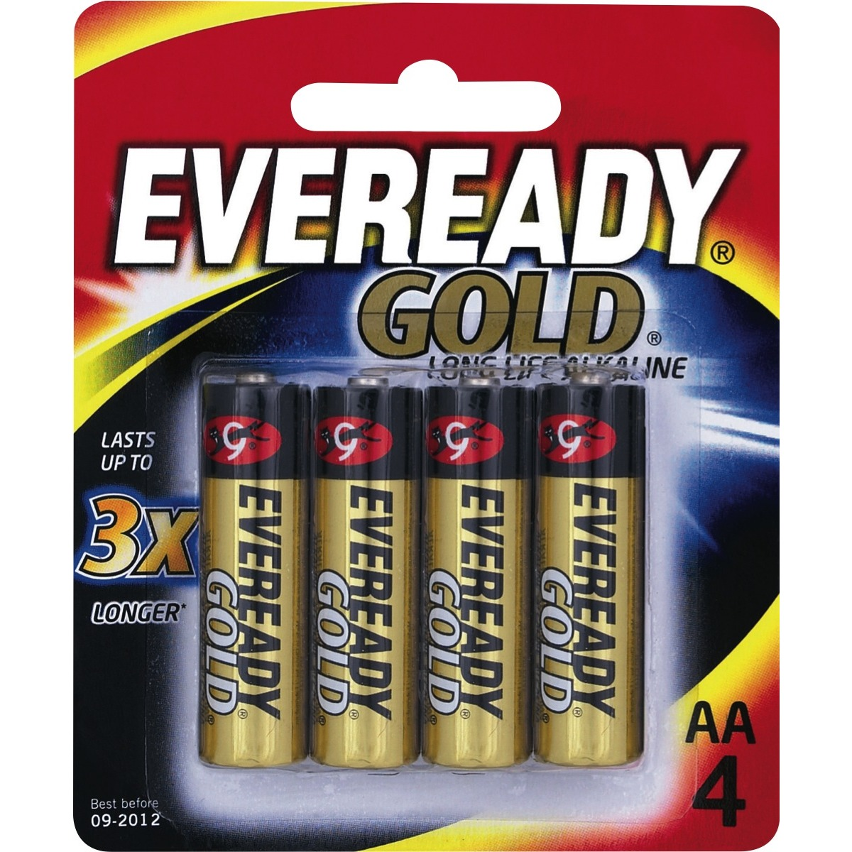 Eveready AA battery, 4 pack