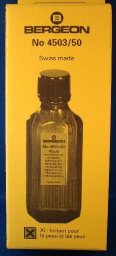Bergeon 4503 Vissin, Screw Loosening Fluid, 50mL-0