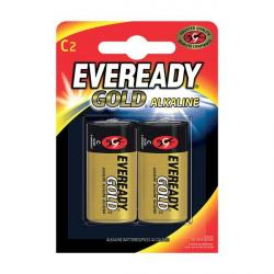 Eveready C battery, 2 pack