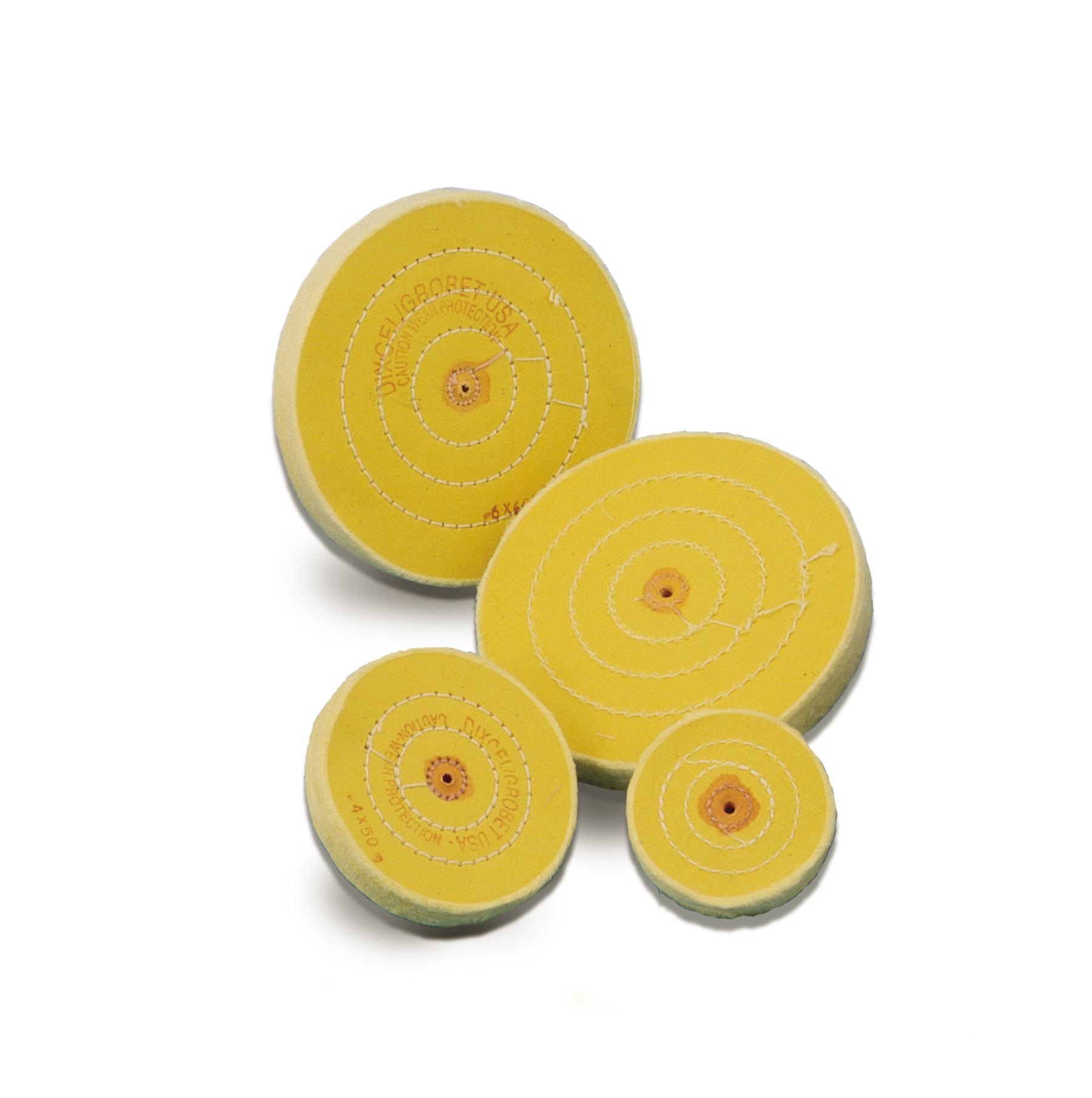 Yellow Chemkote Buff, Shellac Center, 3