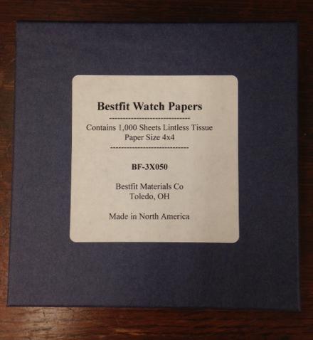 Bestfit Watch Tissue Papers