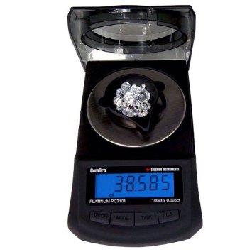 GemOro Platinum PCT 101 Carat Scale-0