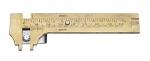 80MM Brass Deluxe gauge-0