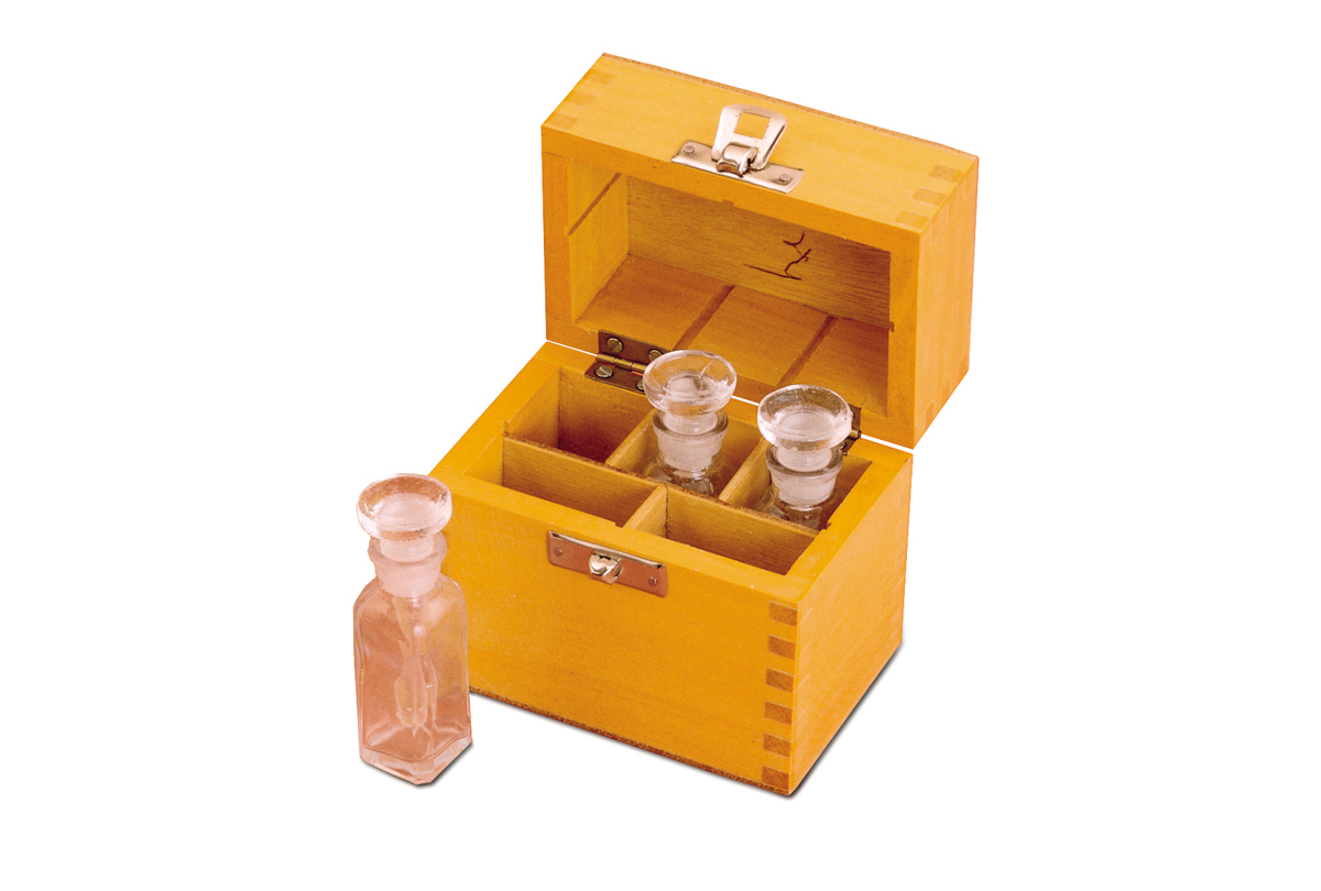 Wooden Box for Holding Metal Testing Set