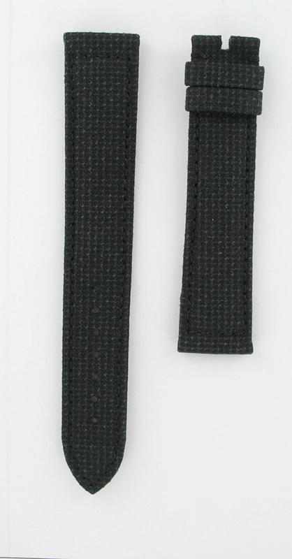 Genuine Omega 20x18L Black Kevlar Strap for X-33 series-0