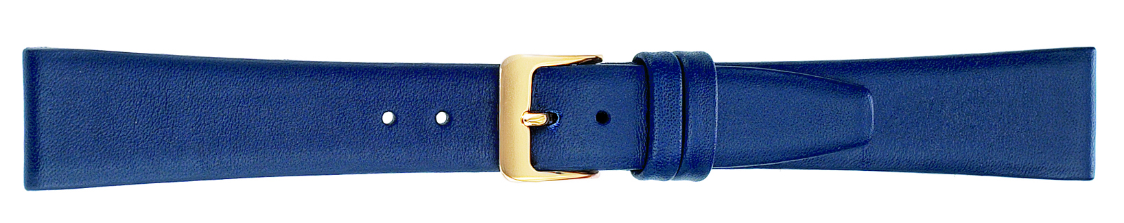 18MM Leather Band Navy Smooth Calf-0