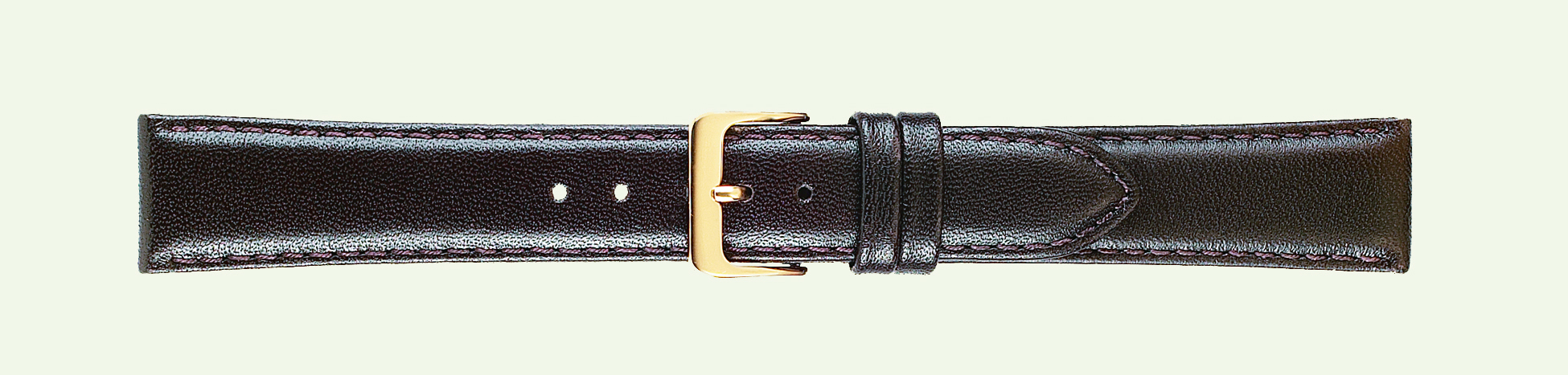 12MM Leather Band Brown Classic Calf Long-0