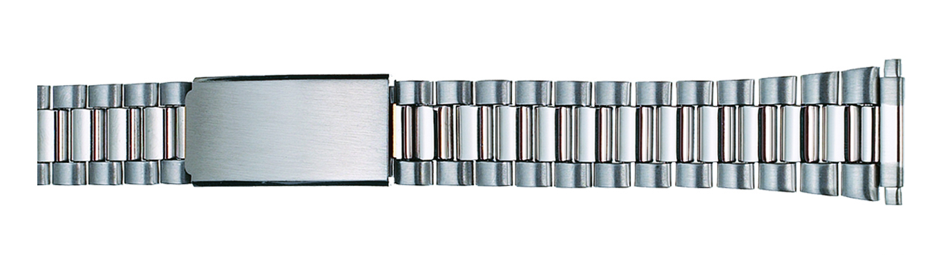 Watch Band Stainless Steel Classic Style w/ends to fit 16-21mm-0