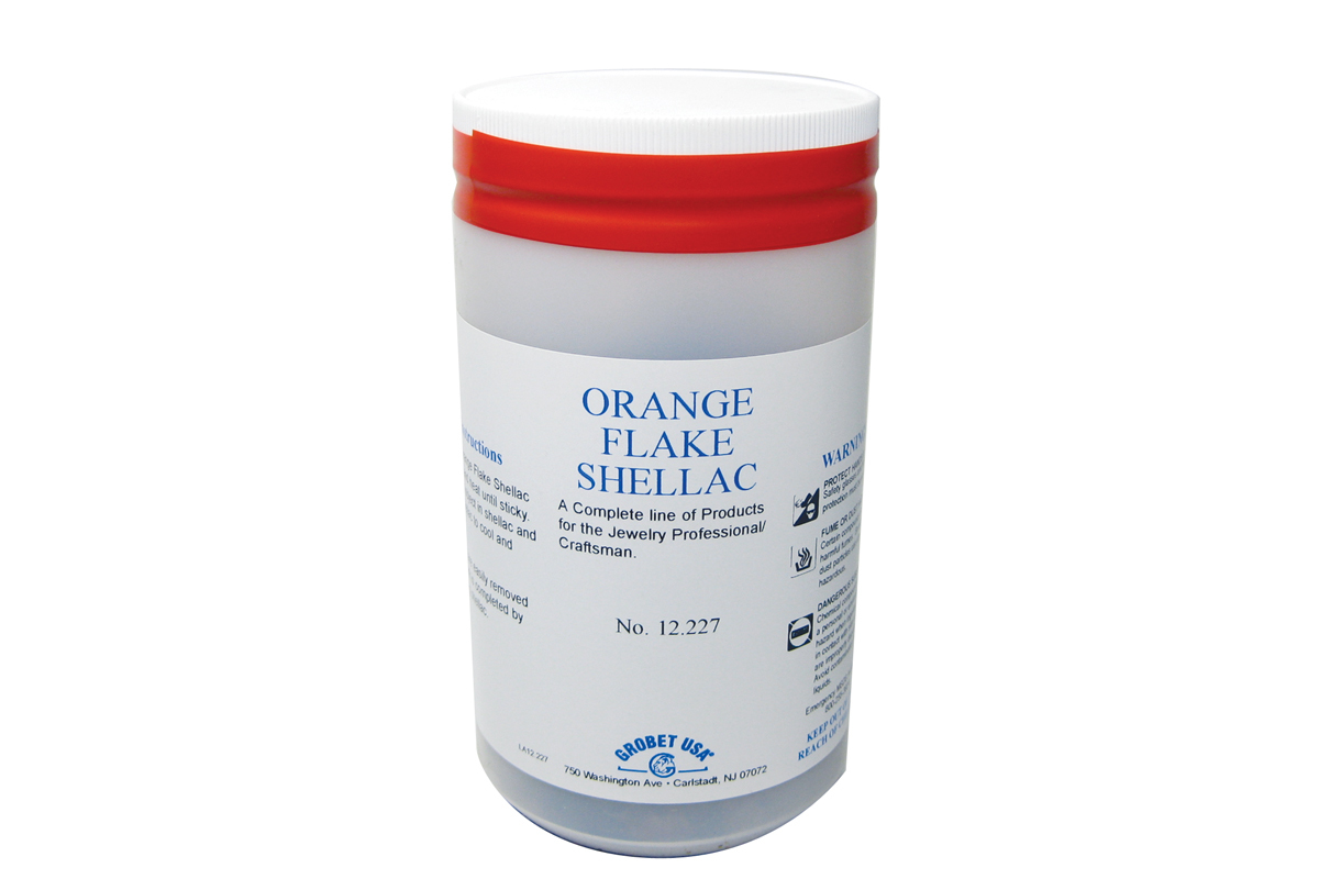 Orange Flake Shellac-0