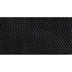 Griffin Black Nylon Bead Cord #5-0
