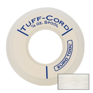 Tuff Cord White Bead Cord #6-0
