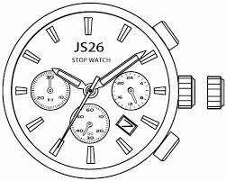 Miyota JS26 Watch Movement-0