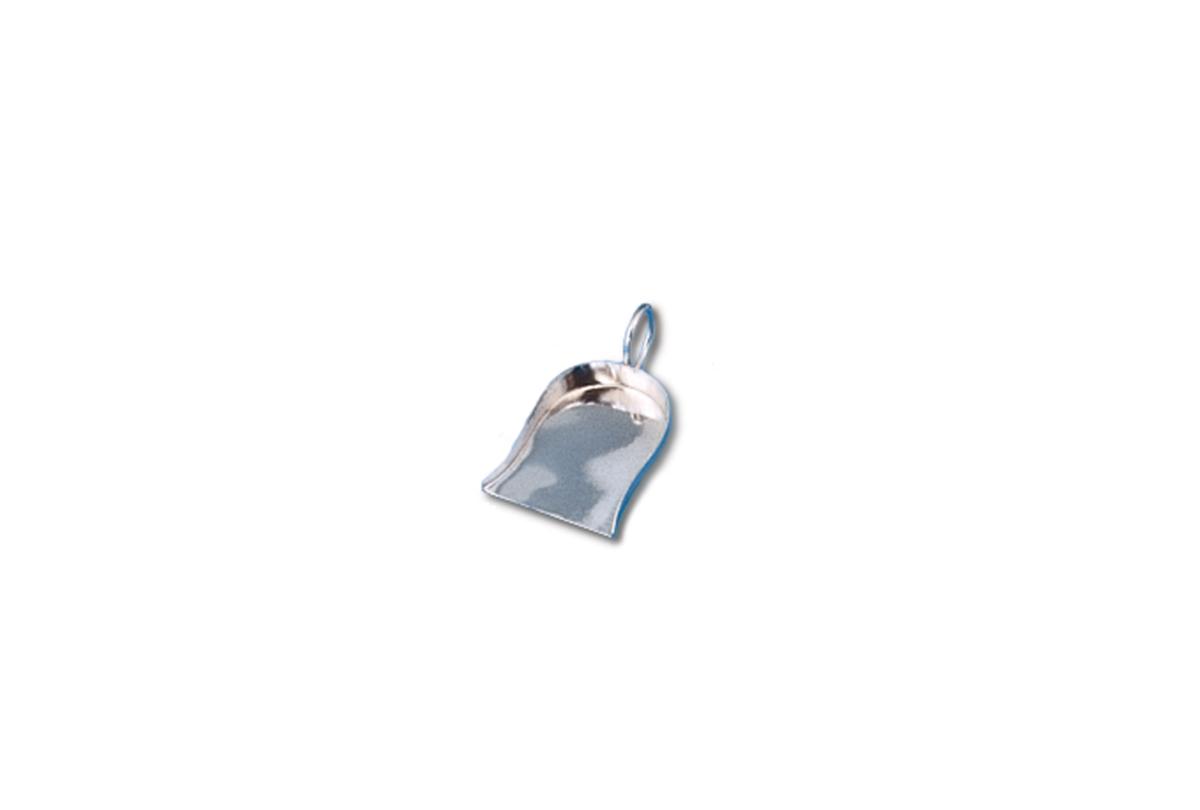 Diamon/Bead Shovel with Handle, Chrome-0