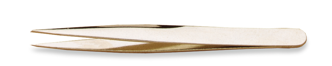 Utility Tweezer, Grobet USA Brand, 4 3/4