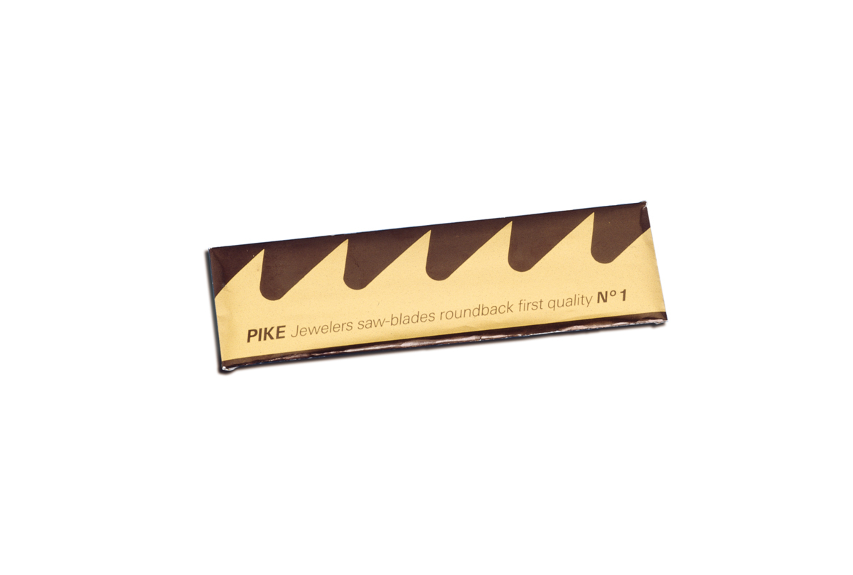Pike Brand, Swiss Jewelers Sawblades, Size 8/0-0