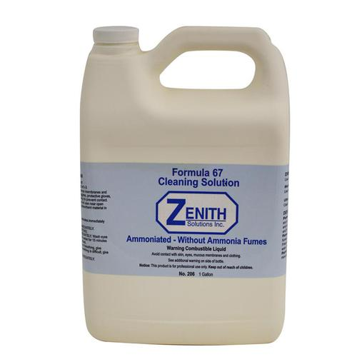 Zenith Watch and Clock Cleaning Solution, Formula 67-0