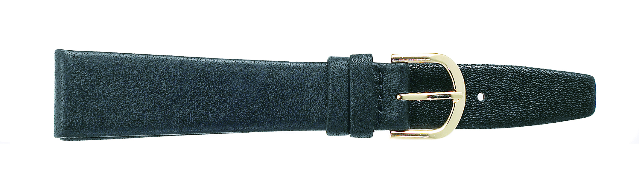 18MM Flat Calf Black Strap-0