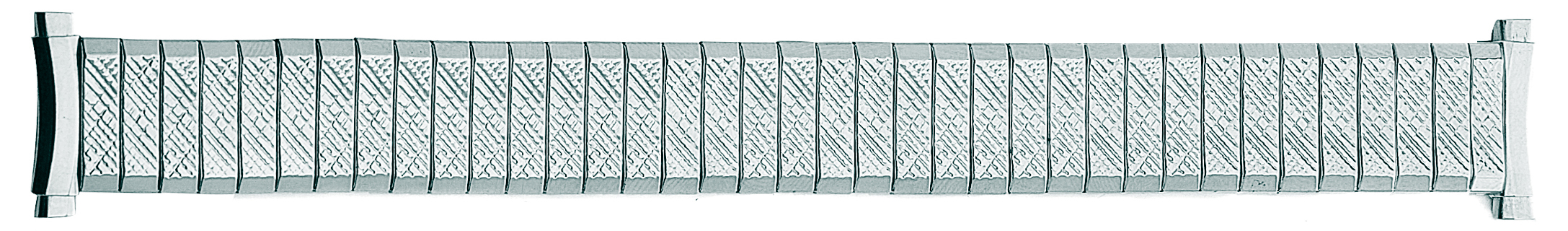 White Metal Expansion Band, 16-19MM Ends -0