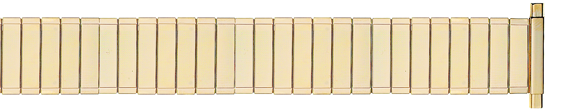 Yellow Metal Expansion Band, 16-21MM Ends-0