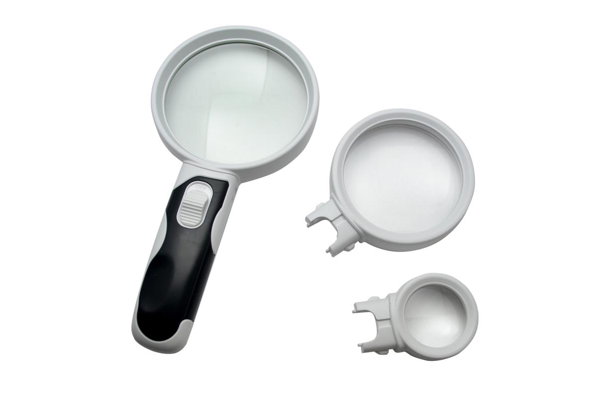 LED Interchangeable Lens Magnifier-0