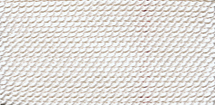 Griffin White Nylon Bead Cord #2-0