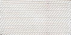 Griffin White Nylon Bead Cord #4-0