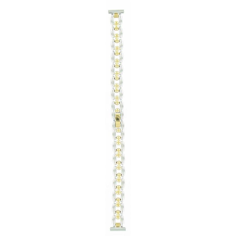 Women's Jewelry Dress Watch Bracelet Two-Tone, 12mm -Closeout!!-0