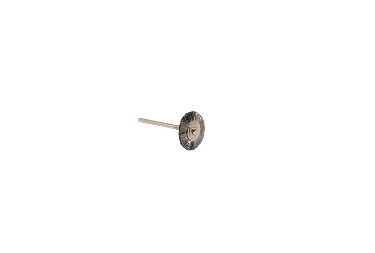 Straight Steel Wire Wheel Brush, 3/4