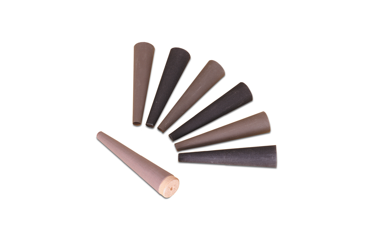 Cloth Ring Shell Set, 6 Pieces and Wood Mandrel-0
