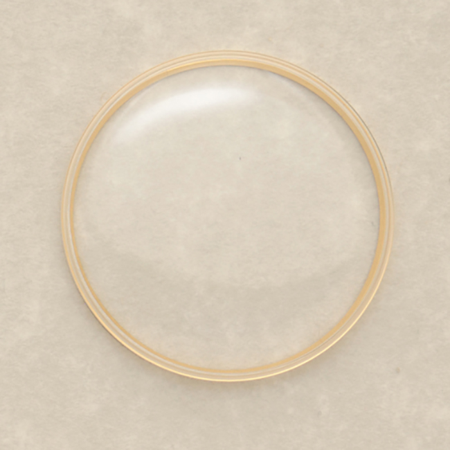 Omega 063PX5072 Genuine Crystal Yellow Ring-0