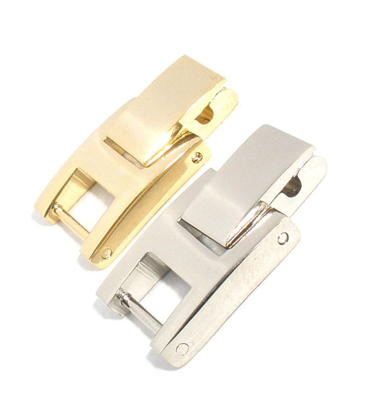 Watch Band Bracelet Extenders with Fold Over Link Clasp-0