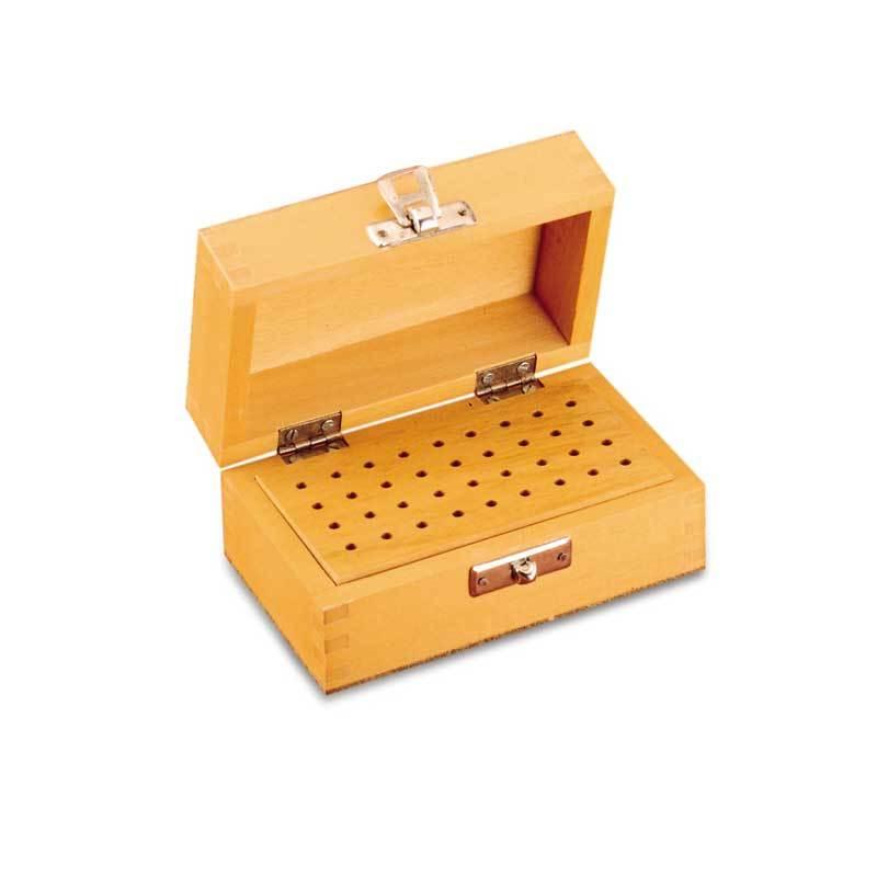 Wooden Box For Burs