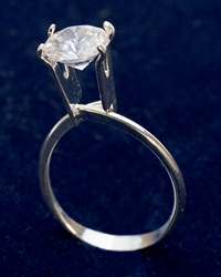 Display Ring Silver Large