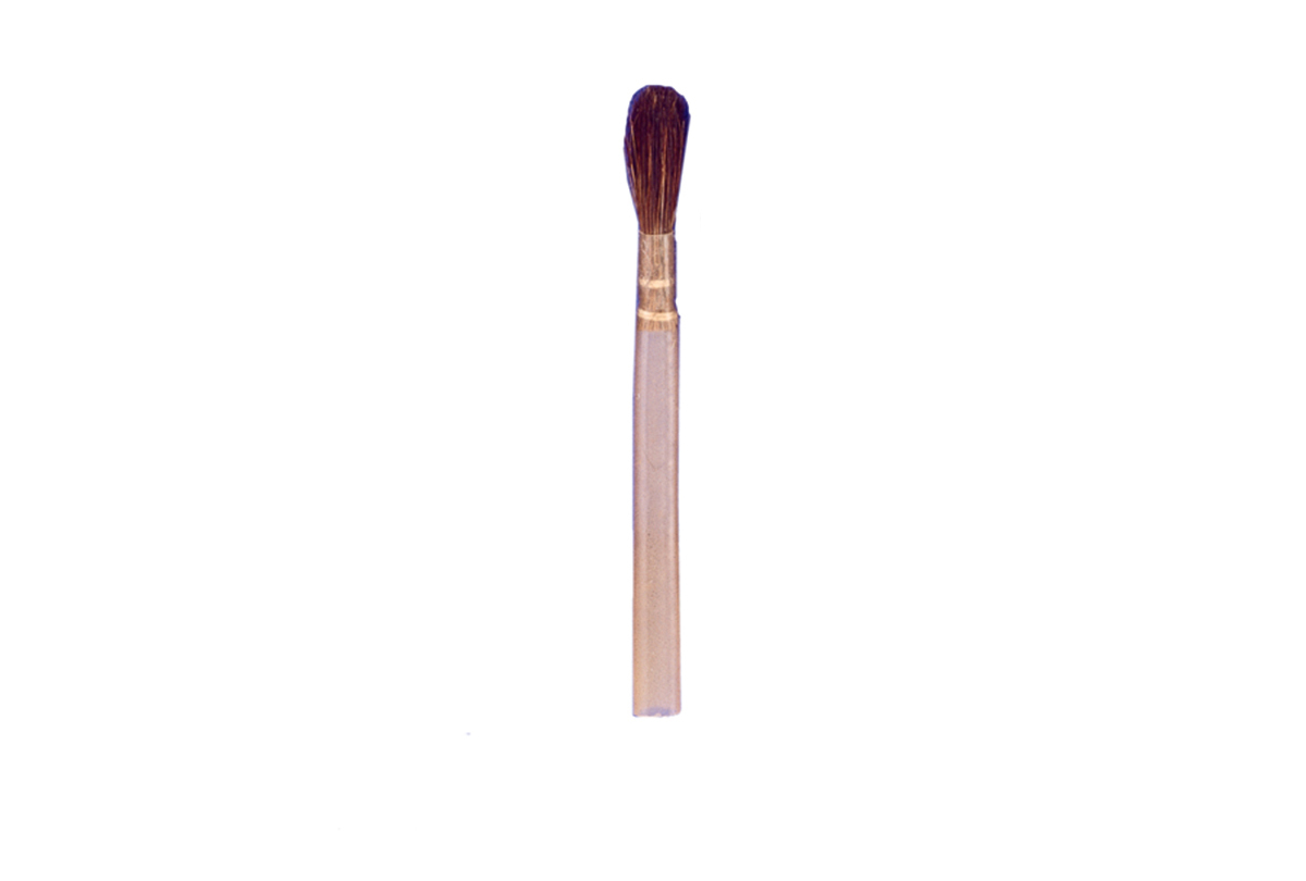 Flux Brush with Quill Handle, 3-1/2