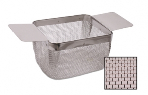 Ultrasonic Cleaning Basket Medium w/Fine Mesh