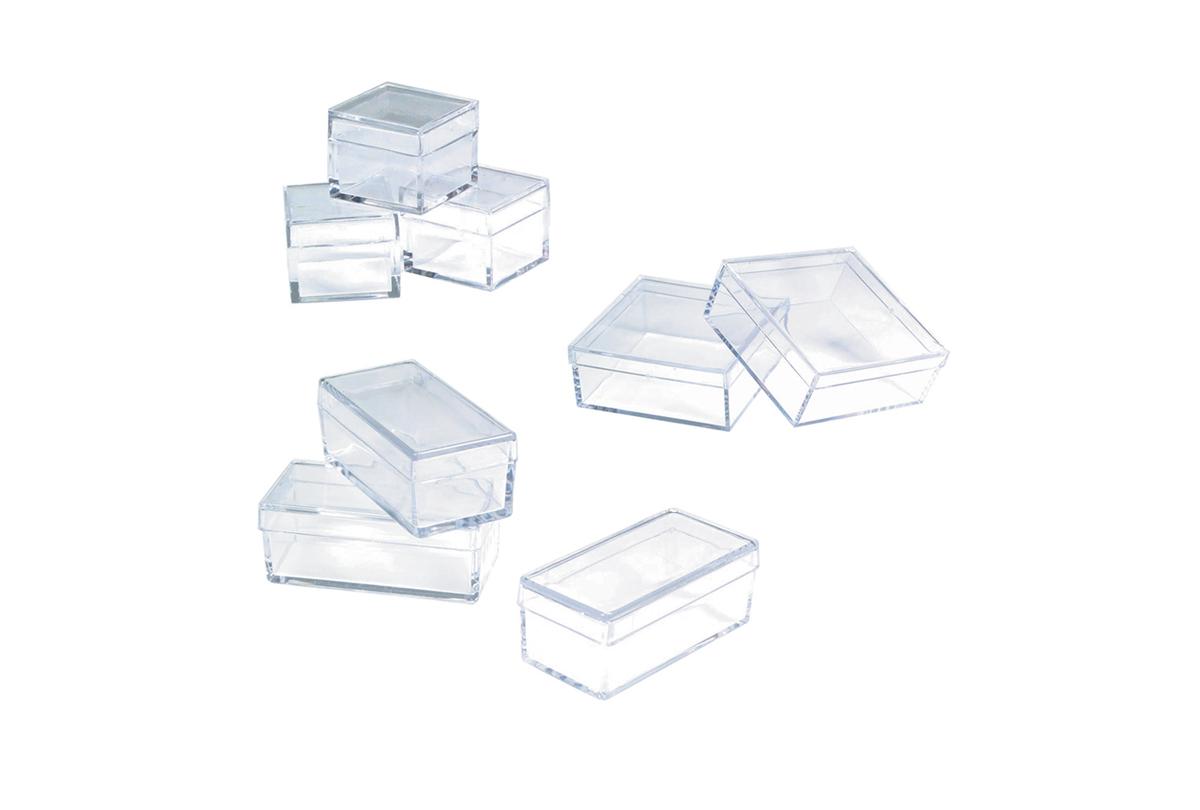 Small Plastic Storage Box, 7/8