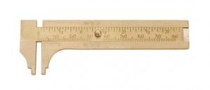 Economy Brass Gauge, 80mm