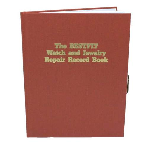 Watch and Jewelry Repair Record Book