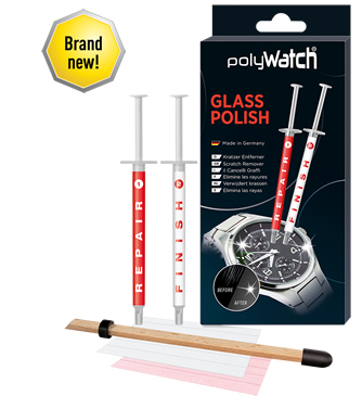 PolyWATCH® Glass Polish and Scratch Remover