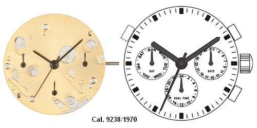 ISA 9238/1970 Watch Movement