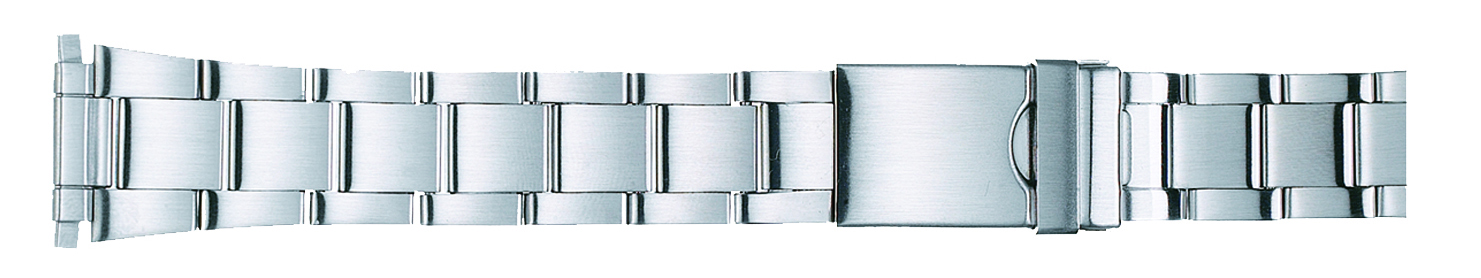 Men's Sport Stainless Metal Watch Band 16-22mm