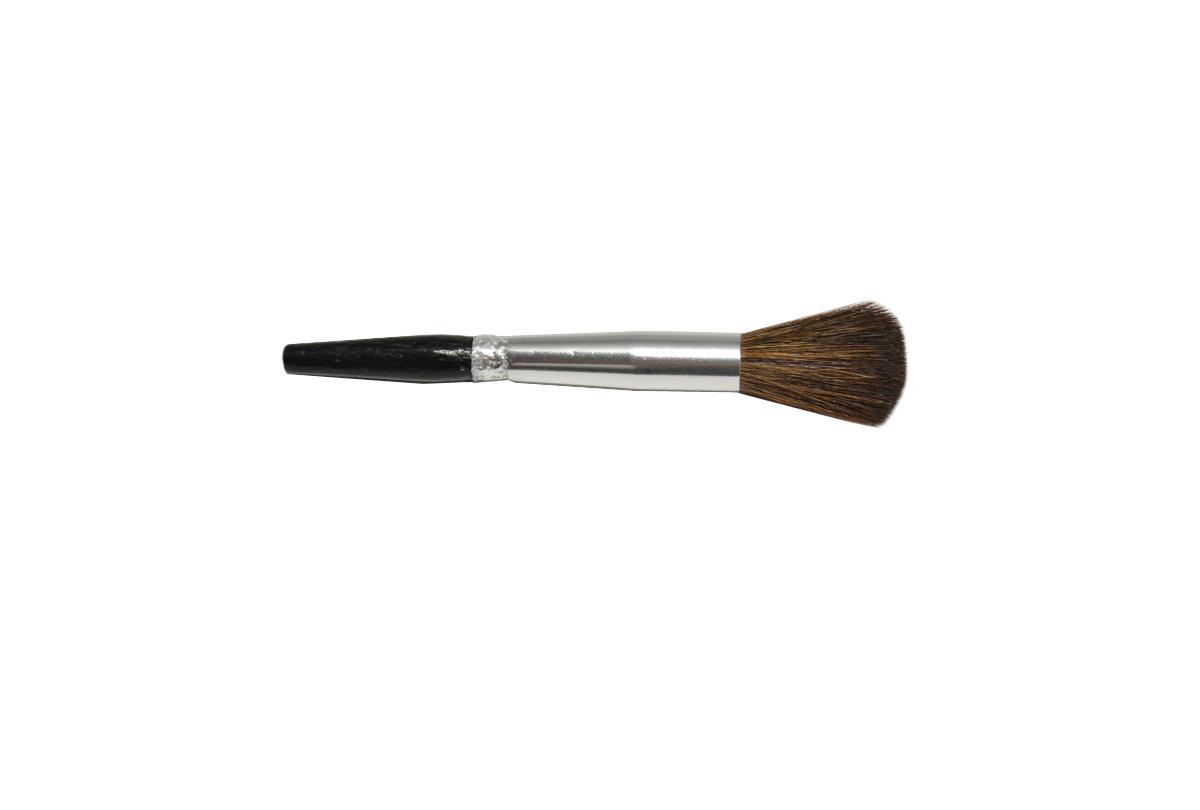 Bench dusting brush, camel hair brush