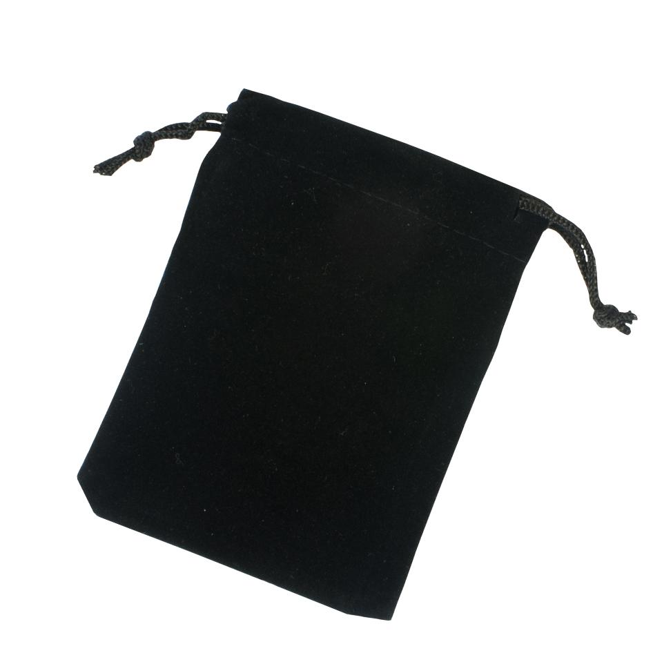Black Velvet Pouches, large