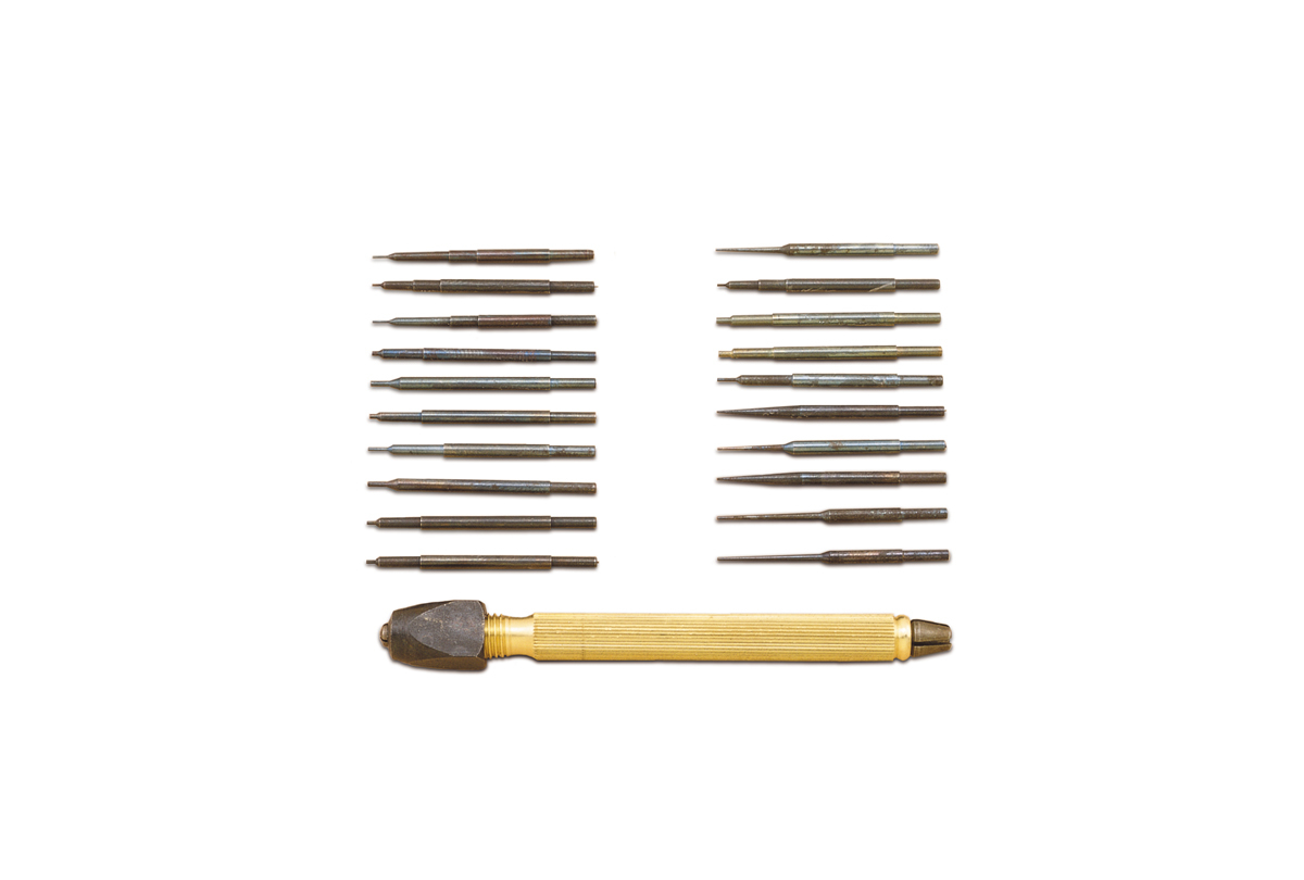 Set of 20 Pin Punches