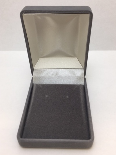 Gray Pendant Box, 1 Dozen - Closeout!!-0
