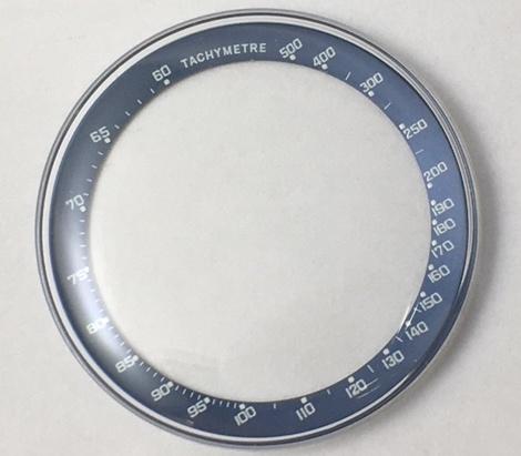 Genuine Omega Speedsonic Crystal Blue Tachymetre-0