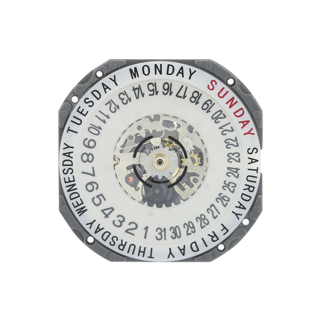 Hattori VJ55 Quartz Watch Movement-3888